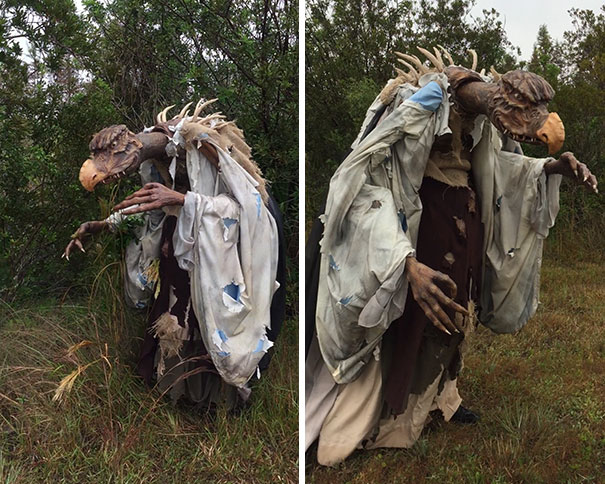 Skeksis Costume, Dark Crystal