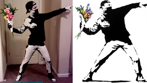 Halloween Banksy