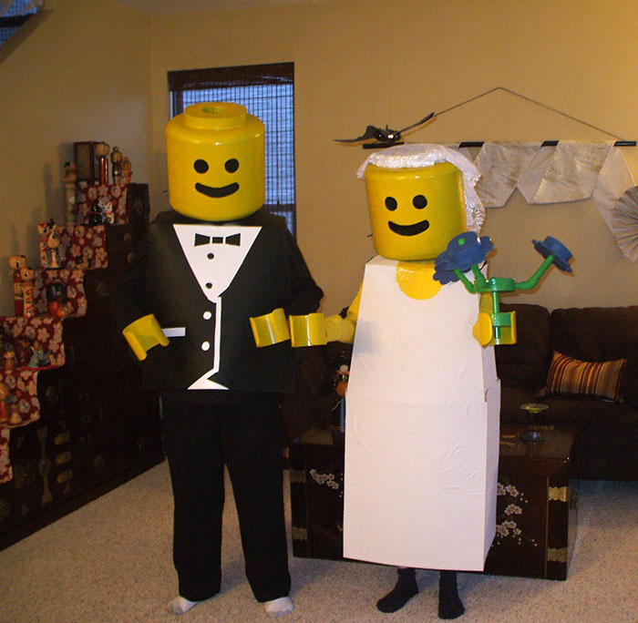 #2 This Is What Won My Parents A Couples Costume Contest