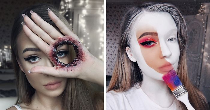 Halloween Looks With Everyday Makeup.One Year Ago I Discovered My True Passion Was Makeup Here