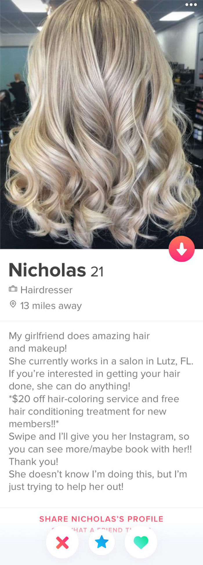 I Was Swiping On Tinder And This Came Up. Someone Give This Man A Medal, My Heart Is So Warm