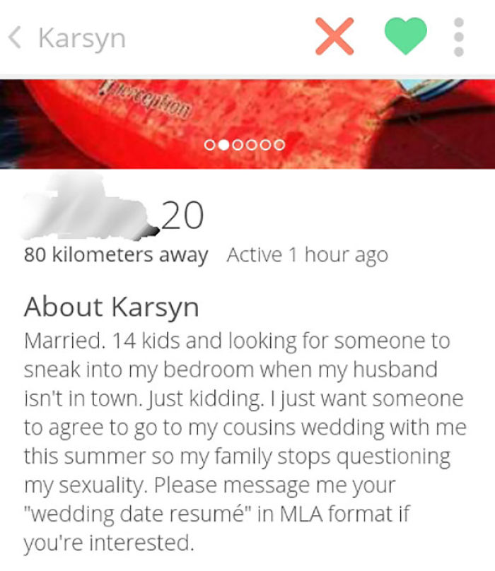 One Of The Best Tinder Profile Description I Have Read So Far