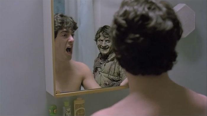 The Mirror Scare Cliche
