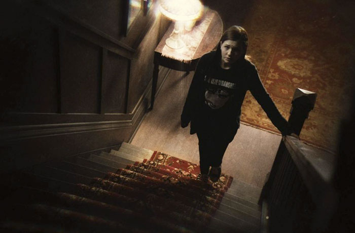 Running To Hide Upstairs Cliche