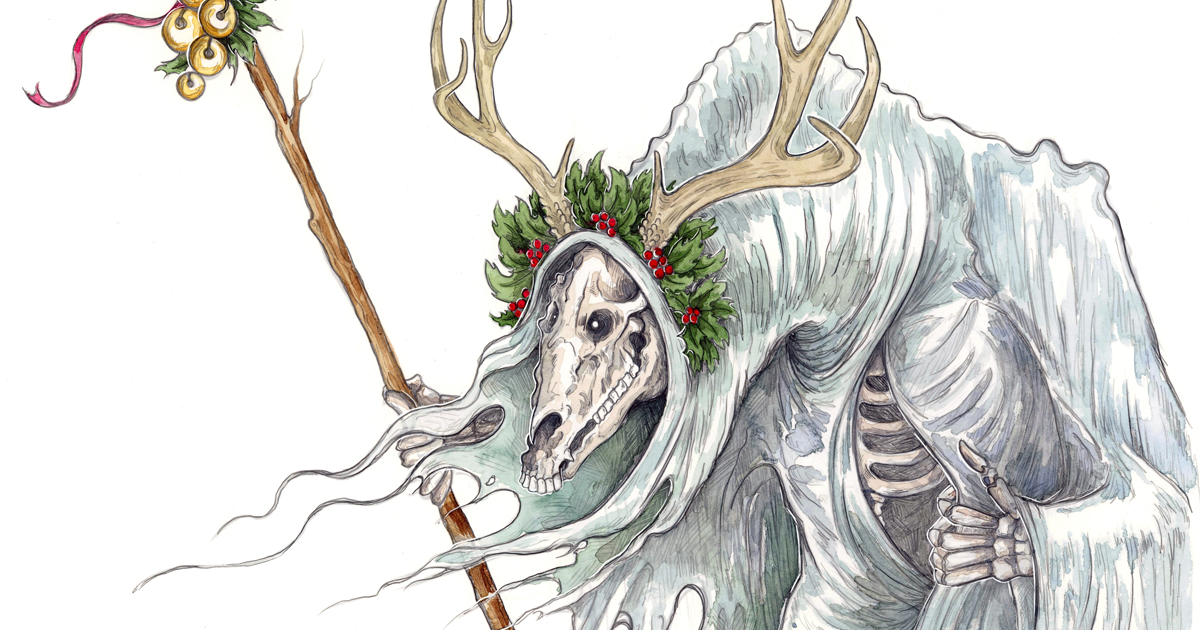 I Create Illustrations Of Creatures From Welsh Folklore To Evoke The Past