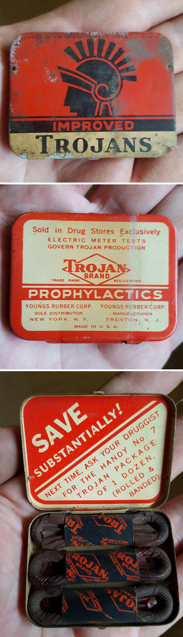 These Condoms Are Around 60 Years Old (Found In My Basement)