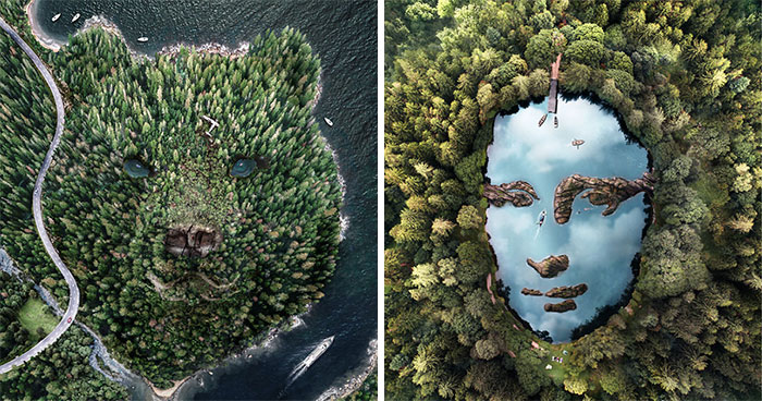 Artist Inspired By Pareidolia Adds Faces Where They Don't Occur Naturally