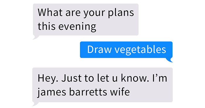 The Way This Wife Reacted To Finding Messages From Another Woman On A Husband's Phone Becomes A Meme