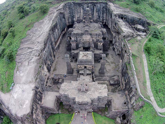 This 8th Century Temple Is Carved Out Of One Rock And People Are Calling It The 8th Wonder Of The World