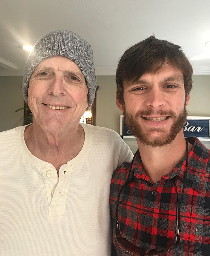 This Is The Last Pic I Have Of My Dad And I, Taken On Christmas Day This Year