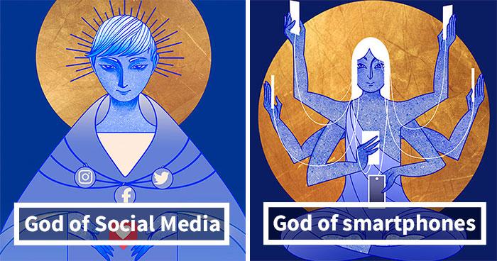 I Illustrated Modern Gods