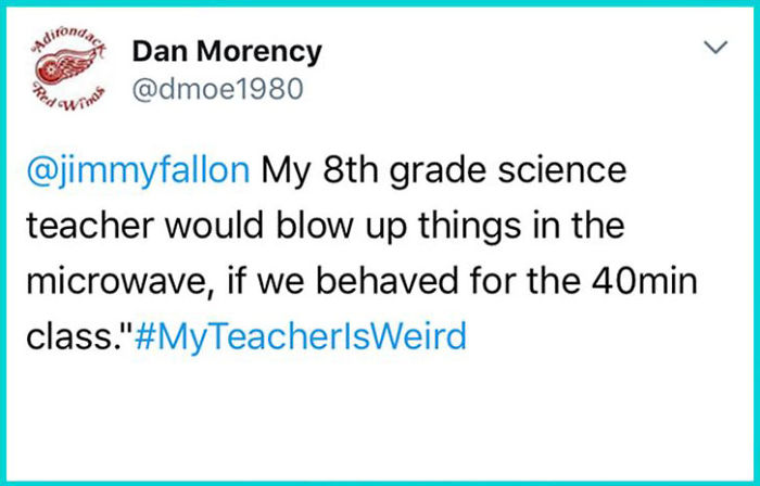 "my teacher weird tweets jimmy fallon3 5bb72a62c3be5  700 - 30+ Hilarious ""My Instructor Is Bizarre"" Tweets"