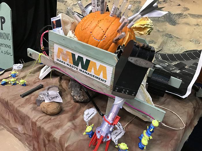 Mars Waste Management