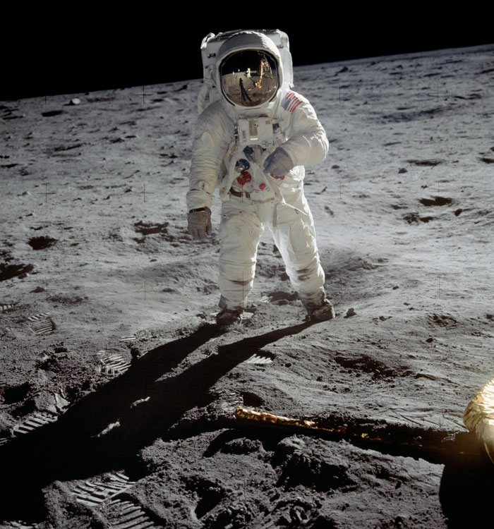Someone Notices First Steps On The Moon Don't Match Neil Armstrong's Boots, Gets Destroyed With Facts