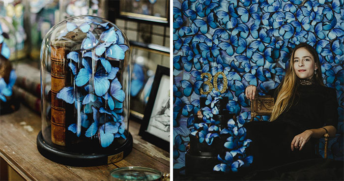 I Create Butterflies Out Of Paper Sheets In Memory Of My Grandmother