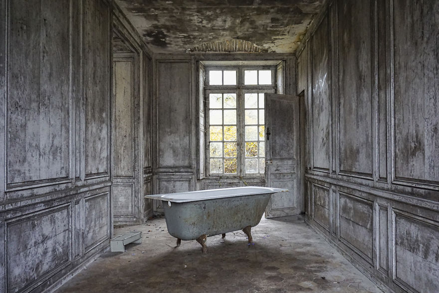 Abandoned Castle In France