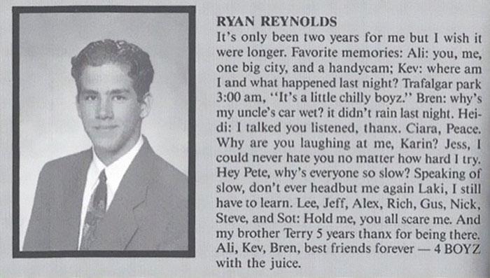 His High School Yearbook Photo Proved He's Always Been A Treasure
