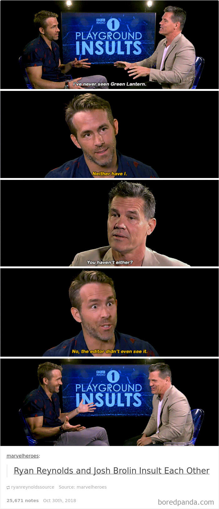 His Love/Hate Relationship With Josh Brolin