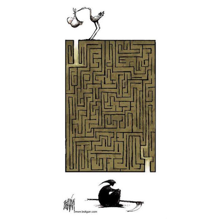 Life's Labyrinth