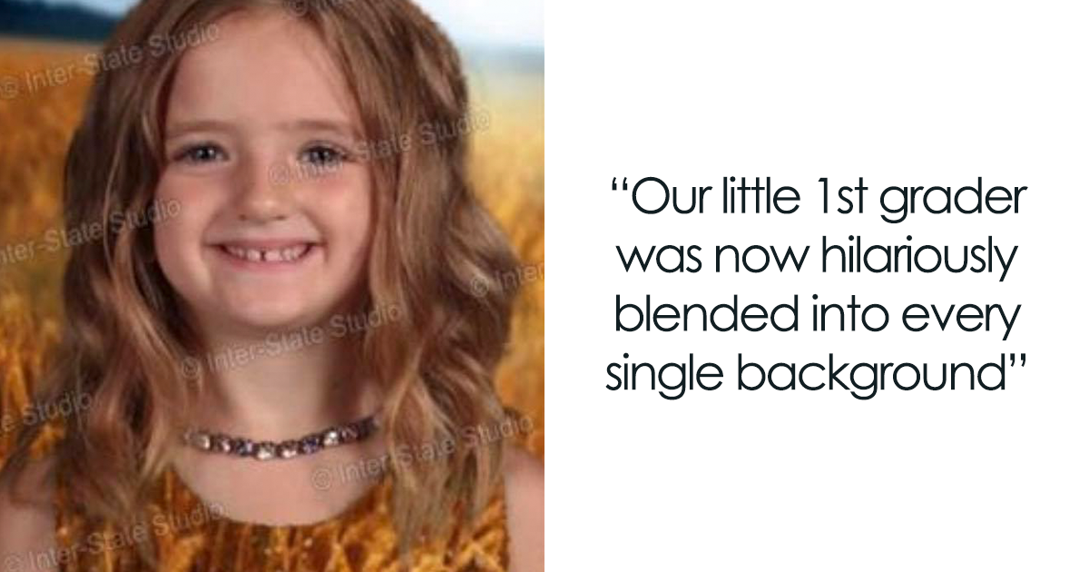 Girl Dresses Up In Green For School Picture Day And The Results Make Mom Laugh Hysterically