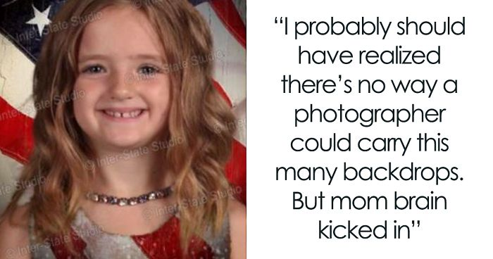 79623ca0 Girl Dresses Up In Green For School Picture Day And The Results Make Mom  Laugh Hysterically