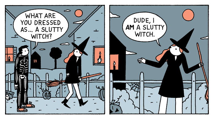 7 Slutty Witch Comics By 'War And Peas'