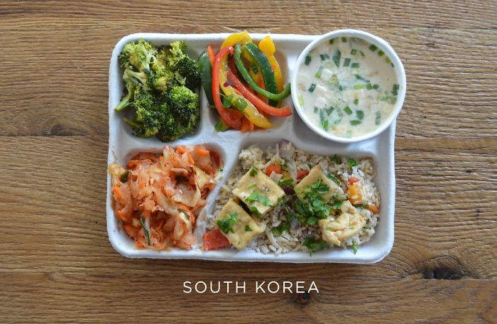 9 Pics That Show What Kids Get For School Lunches In Different Countries