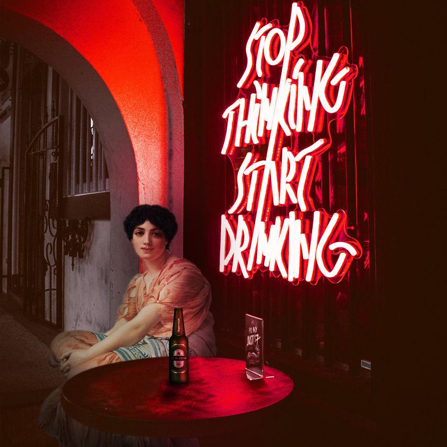Stop Thinking, Start Drinking