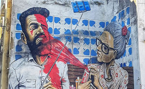 Lisbon's Government Let Street Artists Paint On Walls And I Was There To Capture The Magnificent Transformation