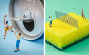 I Arrange Everyday Objects To Create Quirky Mini Worlds