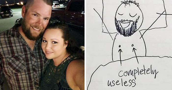Esta mujer dibujó un cómic para explicarle a su marido por qué está tan cansada, y te hará reír