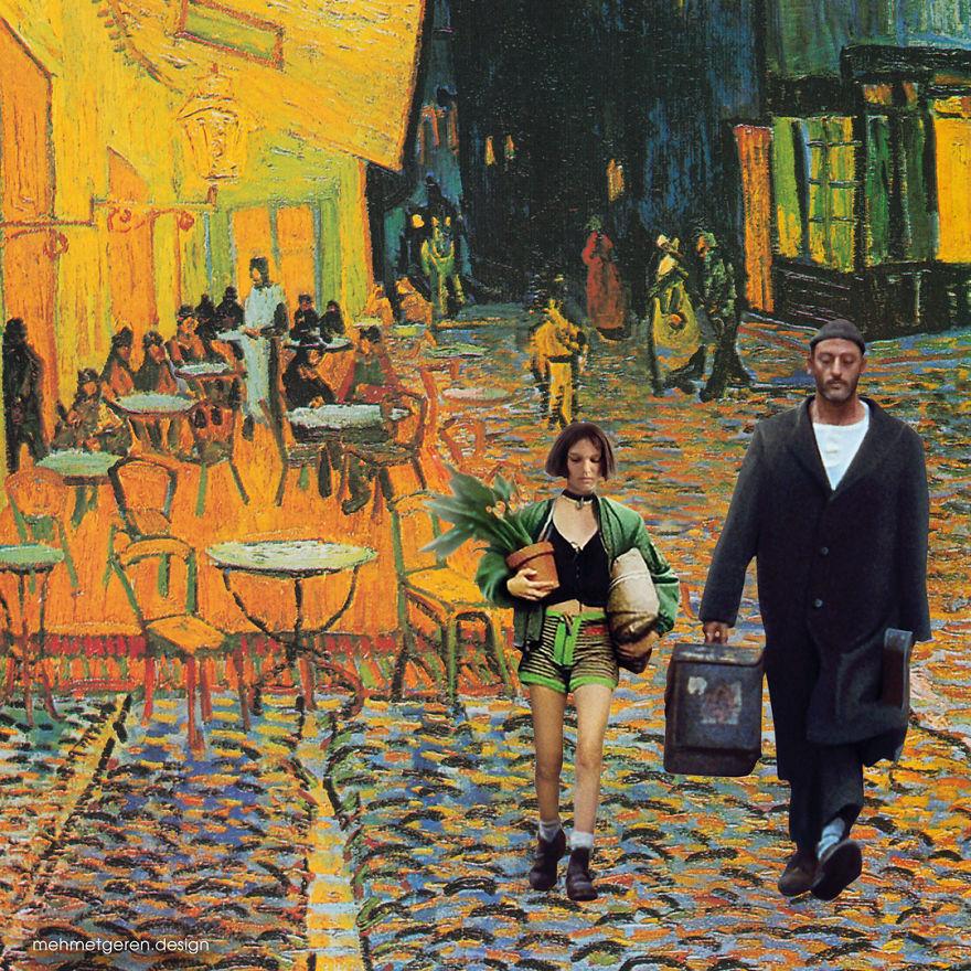 Leon With Van Gogh