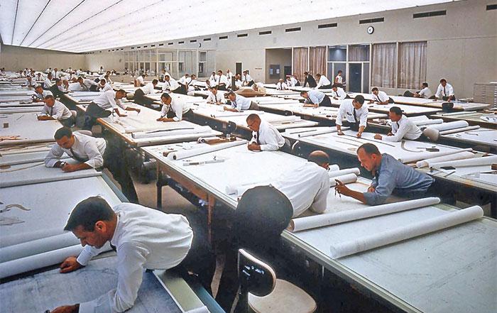 19 Fascinantes fotos vintage que revelan cómo era la vida antes del AutoCAD
