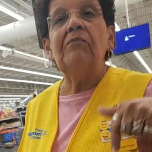 Walmart Employee Tells A Customer To Speak English
