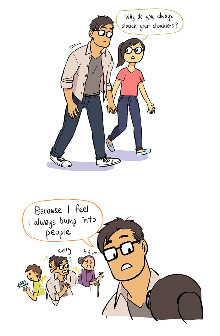Artist Illustrates Her Relationship With 'IT Guy' In 13 Adorable Comics