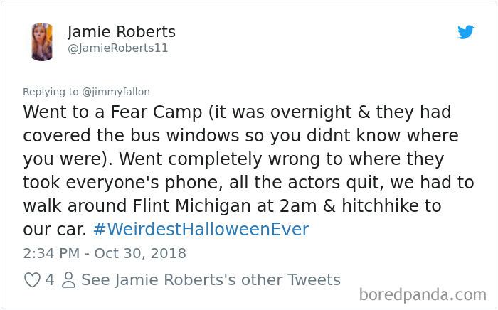 1057279482925604864 png  700 - 20+ Folks Share Their Weirdest Halloween Tales