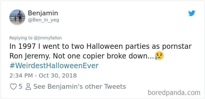 1057279504102506496 png  700 - 20+ Folks Share Their Weirdest Halloween Tales