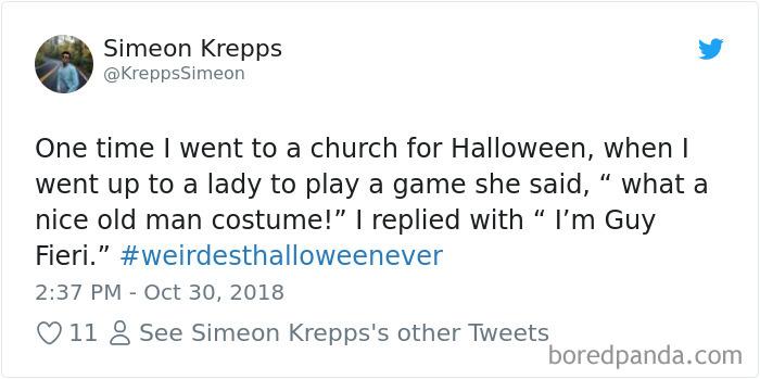 1057280425389932544 png  700 - 20+ Folks Share Their Weirdest Halloween Tales