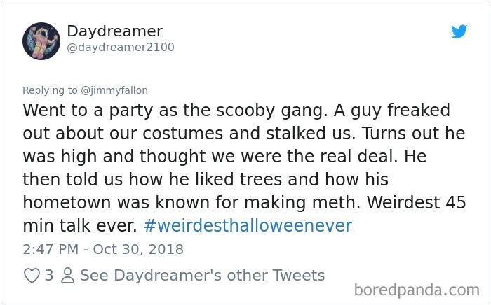 1057282837114695681 png  700 - 20+ Folks Share Their Weirdest Halloween Tales