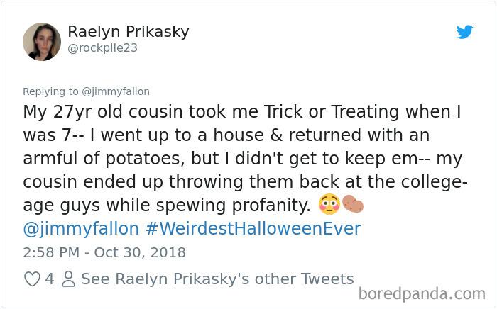 1057285667577888768 png  700 - 20+ Folks Share Their Weirdest Halloween Tales