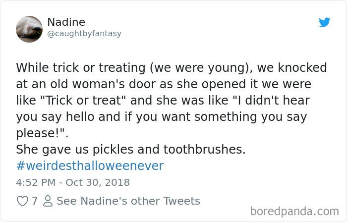 1057314377848799233 png  700 - 20+ Folks Share Their Weirdest Halloween Tales