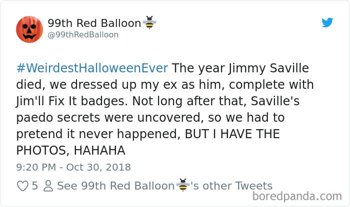 1057381628664782848 png  700 - 20+ Folks Share Their Weirdest Halloween Tales