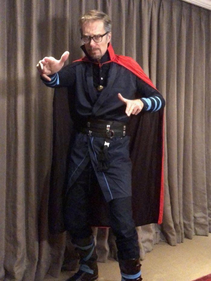 Stephen Merchant As Doctor Strange