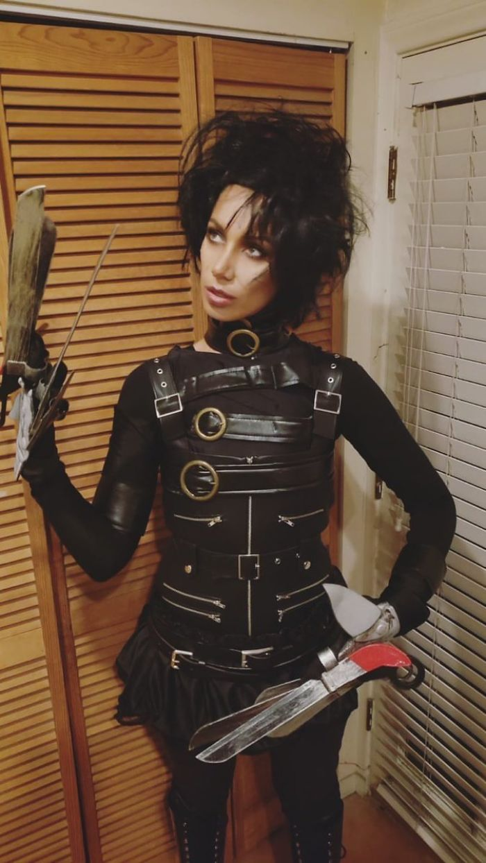 Leona Lewis As Edward Scissorhands