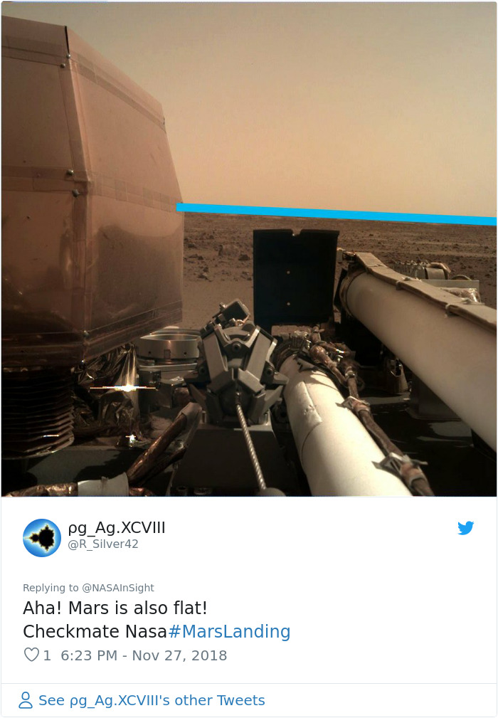 Nasa Released The First Photos Insight Took Of Mars And Here Are 32 Best Reactions