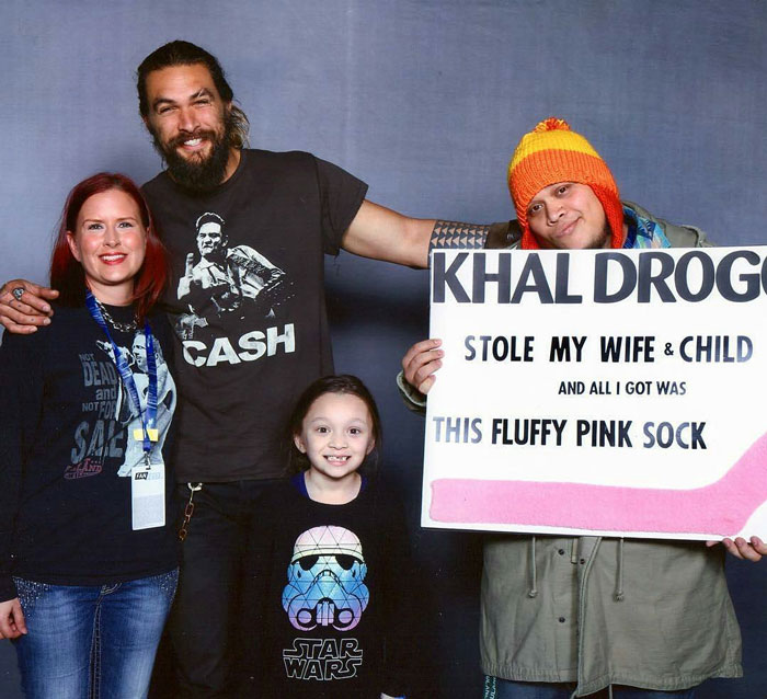 Khal Drogo Stole My Wife & Child, And All I Got Was This Fluffy Pink Sock