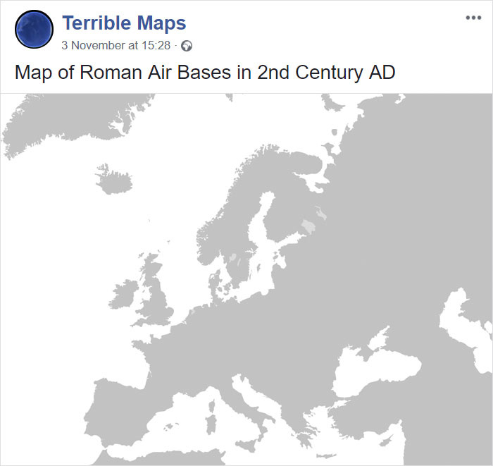 Map Of Roman Air Bases In 2nd Century Ad