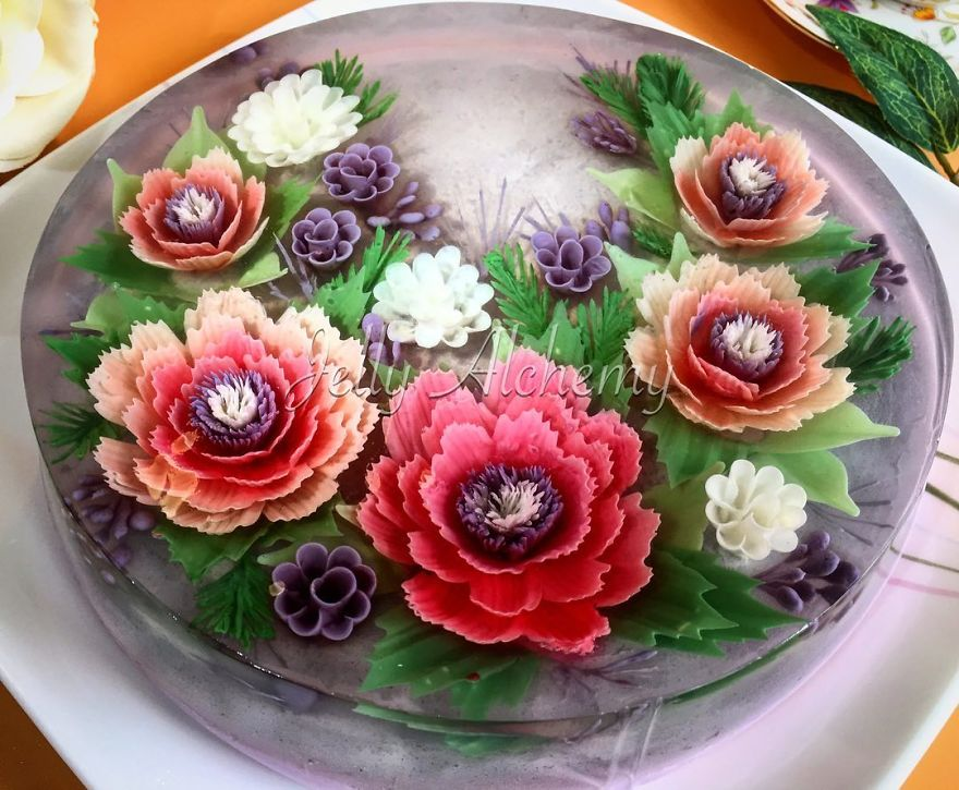 I Create 3d Jelly Cakes That You Ll Probably Feel Sorry To Eat New Pics Bored Panda