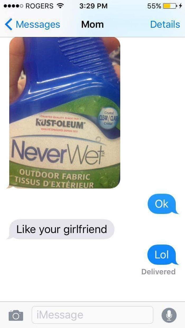 That Moment When Your Mom Is Savage