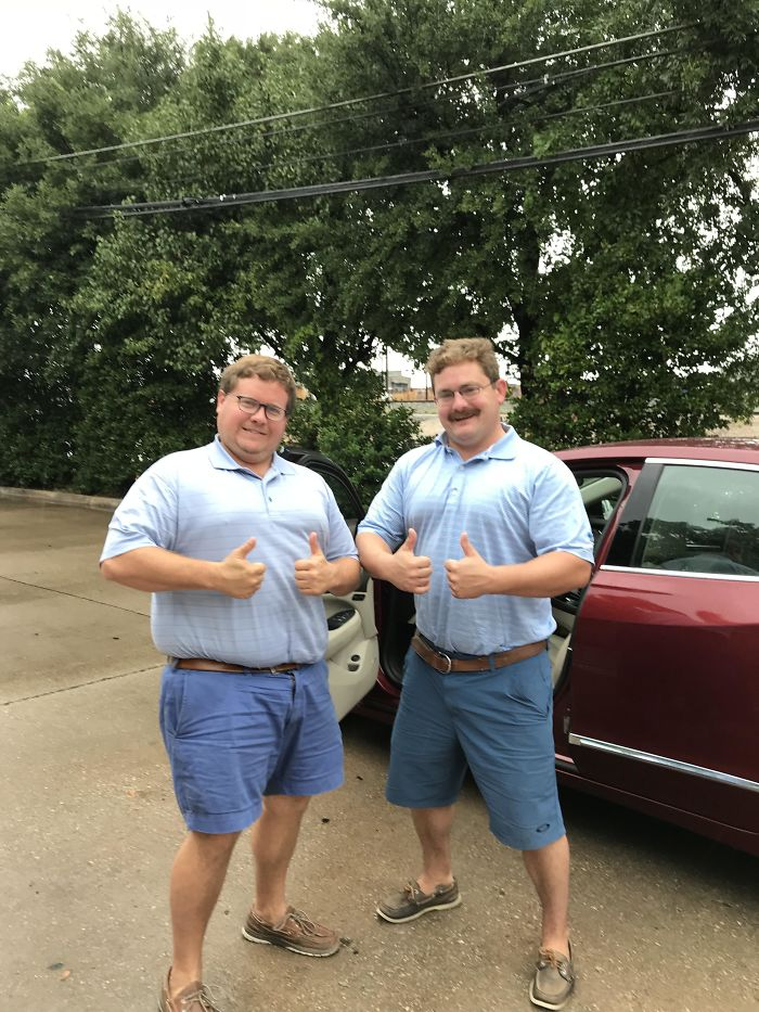 My Uber Driver Was A Slimmer, Cooler, Mustached Version Of Myself